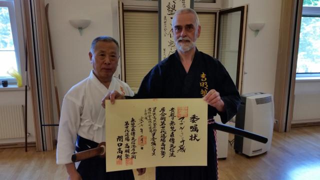 2015_07_12 Shibucho Zertifikat